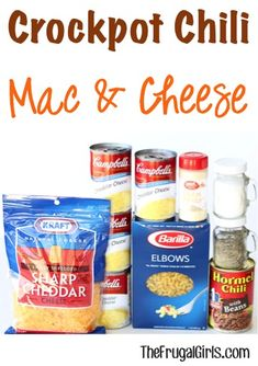 Crock Pot Chili Macaroni and Cheese Recipe! ~ from TheFrugalGirls.com ~ Revamp your favorite classic pasta dish with this delicious Crockpot Chili Mac and Cheese Recipe! It's SO easy, and perfect for Dinner or Game Day! #slowcooker #recipes #thefrugalgirls