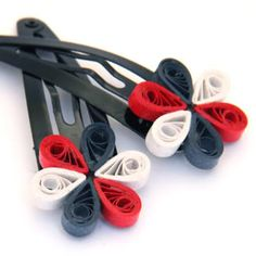 Make Your Own Paper Chain Quilling Bead Earrings | Honey's Quilling