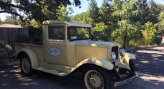 Mayo Family Winery vintage truck