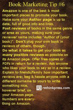 Book Marketing #6 - Amazon http://bigideamarketing.com.au/