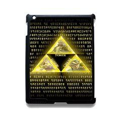 The Legend Of Zelda Triforce TATUM-10840 Apple Phonecase Cover For Ipad 2/3/4, Ipad Mini 2/3/4, Ipad Air, Ipad Air 2