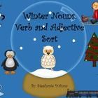 Students will sort the winter-themed cards into categories of nouns, verbs or adjectives. Use all of the cards or just what you need. This is great... $2.00