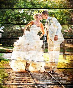 REAL WOOD Custom Wood 5th Anniversary Gift Wedding by Studiojones1