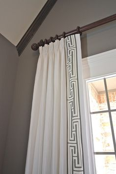 Curtain Patterns Ideas Greek Key