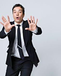 Jimmy Fallon. Honestly I am so in love with this man that I should probably stop watching his show. It makes me so sad. Marry me, Jimmy! Please!