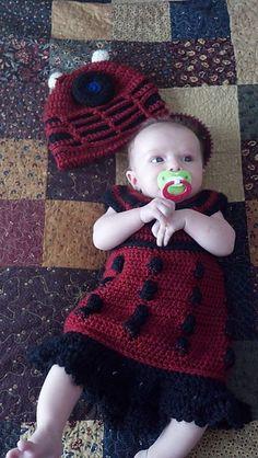 Ravelry: Dr. Who Dalek Dress pattern by Mandie Wallace