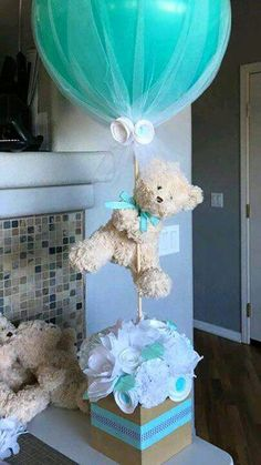 Ideas para baby shower de niño