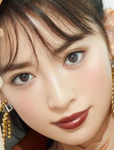 Japanese Makeup, Japanese Beauty, Asian Beauty, Natural Beauty, Korean Eye Makeup, Asian Makeup, Little Girl Models, Korean Makeup Tutorials, Portraits
