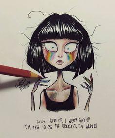 Sia by Alef Vernon (@alefvernonart)