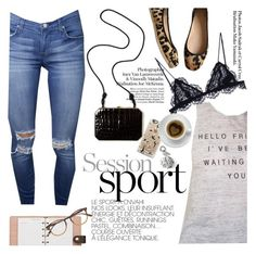 """""""Session sport"""" by punnky ❤ liked on Polyvore featuring Kate Spade, Casetify, Fendi, Isabel Marant, Banana Republic, Louis Vuitton and Garrett Leight"""