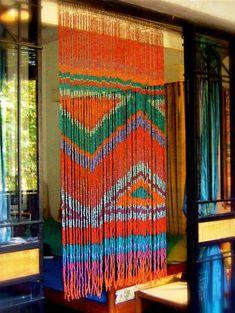 Classy beaded curtain