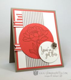 stampin up stampinup stamping stampinup mary fish you've got this