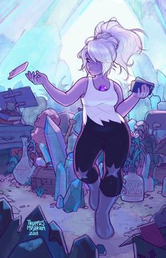 Steven Universe Fan Art! — trufflesmushroom: It's cute to imagine Amethyst...