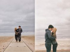 Sweet Coastline Engagement Session - Belle the Magazine . The Wedding Blog For The Sophisticated Bride