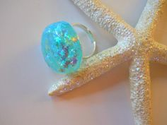 Cute Stars Bubble Ring for GirlsJewelry for by BeachHouseTreasures, $10.50