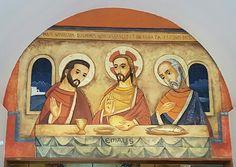 Mural en Parroquía Corpus Christi