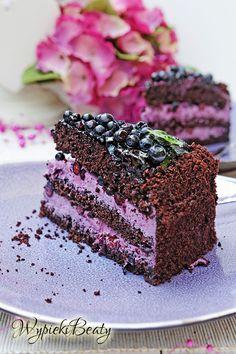 Blueberry Cake, Blueberry Recipes, Recipe Using Lemons, Chocolate Caramel Cake, Vegan Junk Food, Lemon Cake Mixes, Vegan Smoothies, Vegan Kitchen, Vegan Sweets
