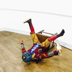 It's Friday. Go easy kids! Champagne Kid (2013) by @shonibarestudio now in situ at TAFETA. #contemporaryart #sculpture #art