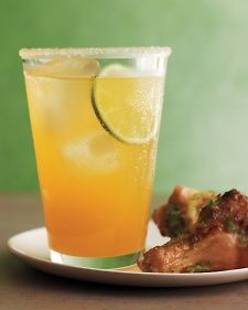sweet and spicy beer punch