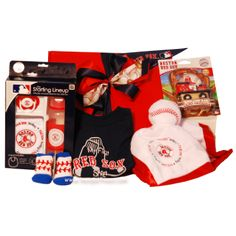 Boston Red Sox Baby Gift Basket Baby Baskets, Gift Baskets, Boston Red Sox,