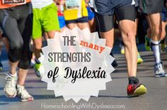 Once dyslexics come to know, understand and work with their strengths they often do very well, not despite their dyslexia, but because of their dyslexia.