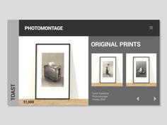 UI Photomontage Interaction