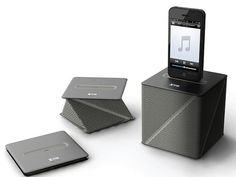 Origami-inspired Viva Docking Speaker