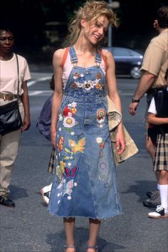 Brittany Murphy in Uptown Girls?? Dress from overalls (Not all of the patches)