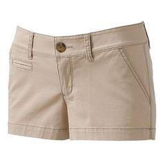 SO Chino Shortie Shorts