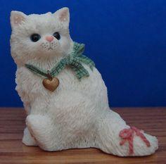 A Breed Apart Series 1-White Persian. Enesco Calico Kitten