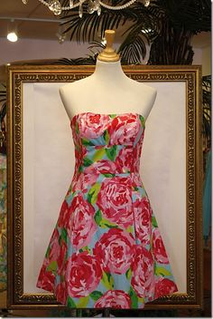 "fortygoingnorth: "" My FAVORITE design. Lilly, please make dresses for girls with bigger boobs. """