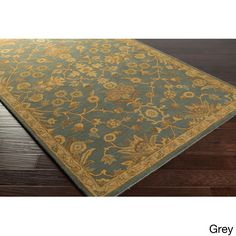 Hand-tufted Karla Traditional Wool Rug (8' x 11') (
