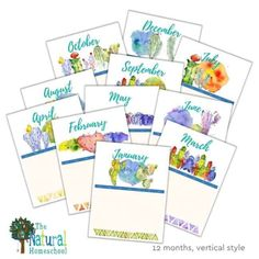 Printable Vertical Homeschool Calendar Have you been looking for a beautiful homeschool vertical calendar that will get you started on your homeschool year right? If so, then come and take a look at this great homeschool 12-month planner. #homeschoolcalendarideas #homeschool #homeschoolcalendarprintable #homeschoolprintableplanner Monthly Planner, Printable Planner, Printables, Classical Education, Gifted Education, Cleaners Homemade, Homeschool, Calendar, Take That