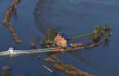 In pics: Aerial images show the devastation caused by floods across the north of England with particularly disastrous consequences in York and Leeds Uk Today, Wet And Wild, Nottingham Forest, Aerial Images, Northern England, North Yorkshire, Image Shows, Picture Show