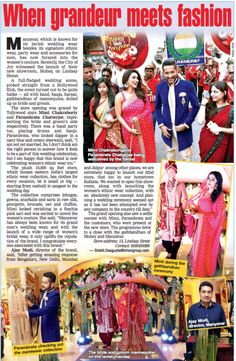 A 10,000 sq. ft. store at 13 Lindsay Street opened with Kolkata's Biggest Wedding. Here's a recap if you missed it.