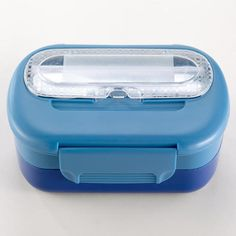 One of my favorite discoveries at WorldMarket.com: Blue Bento Lunch Box