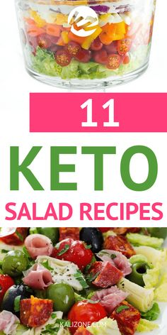 I love making salads in summer - and these keto salad recipes look so delicious!Having these keto salad recipes will make dinner and lunch prep a breeze!