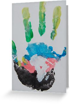$2.40 Multicolored Handprint by The Street Child Project