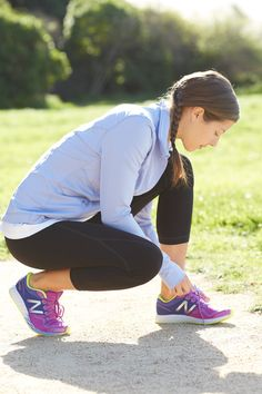 You can up your running game by simply learning a new way to tie your shoes. Learn how to take advantage of that extra hole to prevent heel blisters from slipping sneakers.
