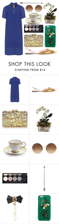 """Behave"" by shanelala ❤ liked on Polyvore featuring Manon Baptiste, Rochas, Jimmy Choo, Prouna, Victoria Beckham, Witchery, MAC Cosmetics and Dolce&Gabbana"