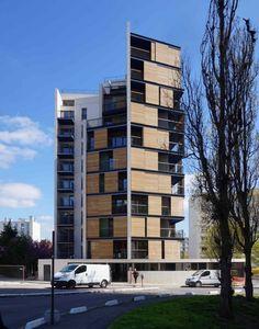 44 logements sociaux rue Irène et Frédéric Joliot-Curie à Montreuil, par CITA Architectes