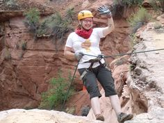 Finnish guests at our B&B returned, we celebrated by going RAPPELLING! What fantastic, adrenalin-rush fun...