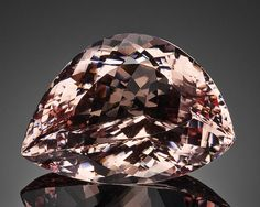 """Exceptional Large Morganite of Unusual Form--""""A Member of the 100 Carats Club"""""""