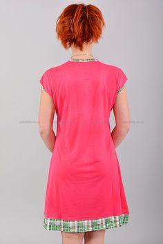 Домашнее платье В0074 Цена: 350 руб Симпатичное, домашнее платье выполнено из комфортного материала. Модель комфортного кроя, украшена контрастным принтом. Состав: 65 % хлопок, 35 % полиэстер. Размеры:XL,2XL,3X  http://odezhda-m.ru/products/domashnee-plate-v0074  #одежда #женщинам #домашняяодежда #одеждамаркет