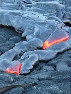 Hawaii Volcanoes National Park: Lava