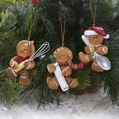 ) available for sale at the best price at Kitchen Stuff Plus your Ornaments store. Christmas Gingerbread Men, Gingerbread Ornaments, Gingerbread Decorations, Polymer Clay Christmas, Felt Christmas Ornaments, Noel Christmas, Christmas Projects, Holiday Crafts, Gingerbread Houses