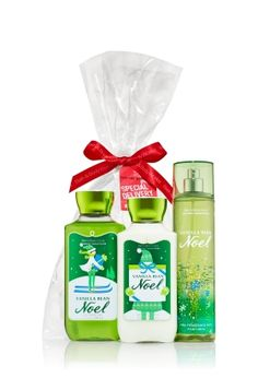 Vanilla Bean Noel The All New Daily Trio - Signature Collection - Bath & Body Works