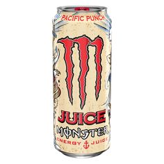 Monster Pacific Punch Energy Drink 16 fl oz Can Monster Punch, Love Monster, Monster Energy, Triumph Motorcycles, Nitro Circus, Best Fruit Juice, Apple Juice, Motocross, Architecture Tattoo