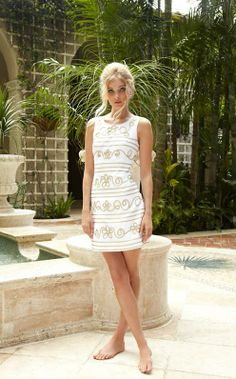 lilly pulitzer lennox shift dress in resort white icing on the cake soutache Casual Dresses, Short Dresses, Summer Dresses, Grad Dresses, Dresses Dresses, Summer Clothes, Summer Outfits, Wedding Dresses, Dress Lilly