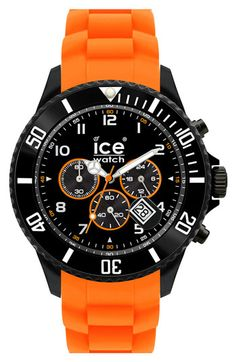 ICE Watch Chronograph Silicone Strap Watch